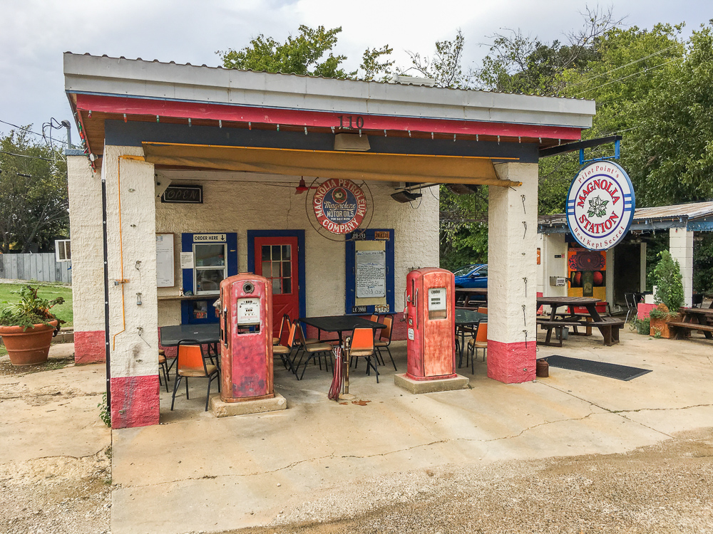 Gas Station From Yesterday, Pilot Point Texas