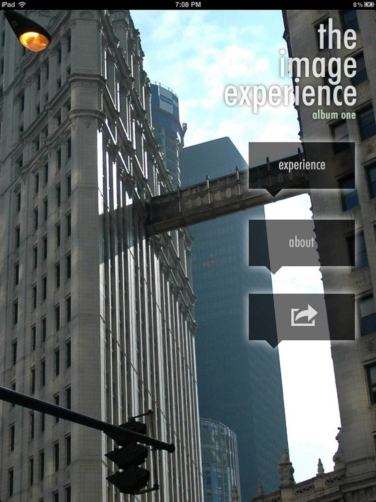 iPad App - The Image Experience Home