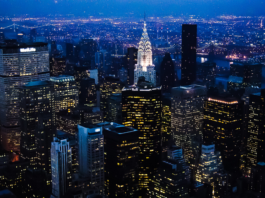 New York City, Empire State Building, Night