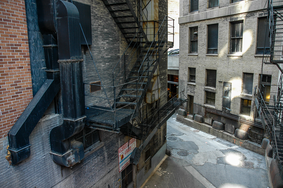 Chicago, Some Strange Alleyway - Fire Escapes