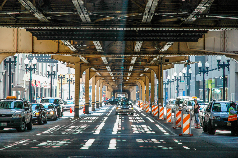 Chicago, Under The L - Shadows and Lights