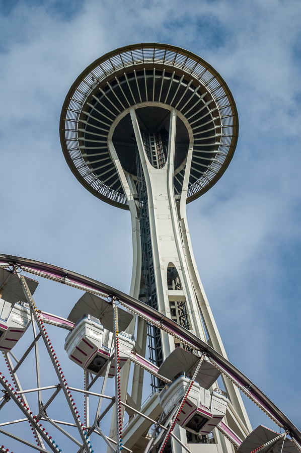 Seattle, Space Needle, Sky