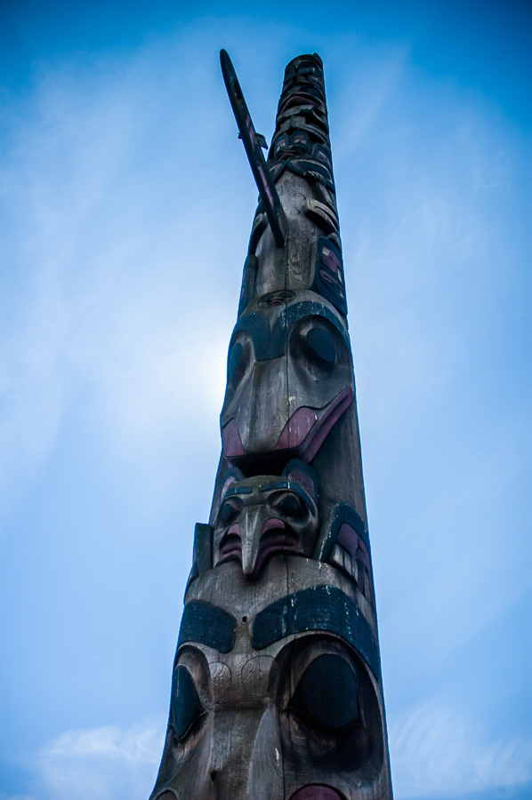 Seattle, Totem Pole High As The Sky