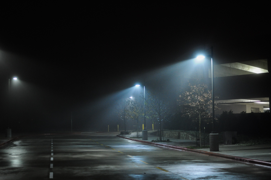 Urban Lights, Lonely Parking lot