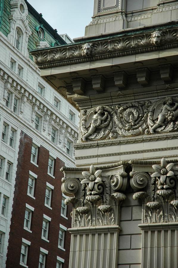 Portland, Oregon Downtown Ornate Buildings