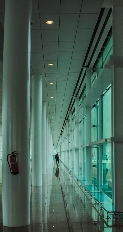 Urban, Barcelona Airport, Fire Extinguisher, Postmodern