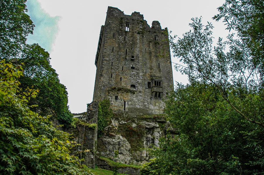 Irish Stone Castle Ruins