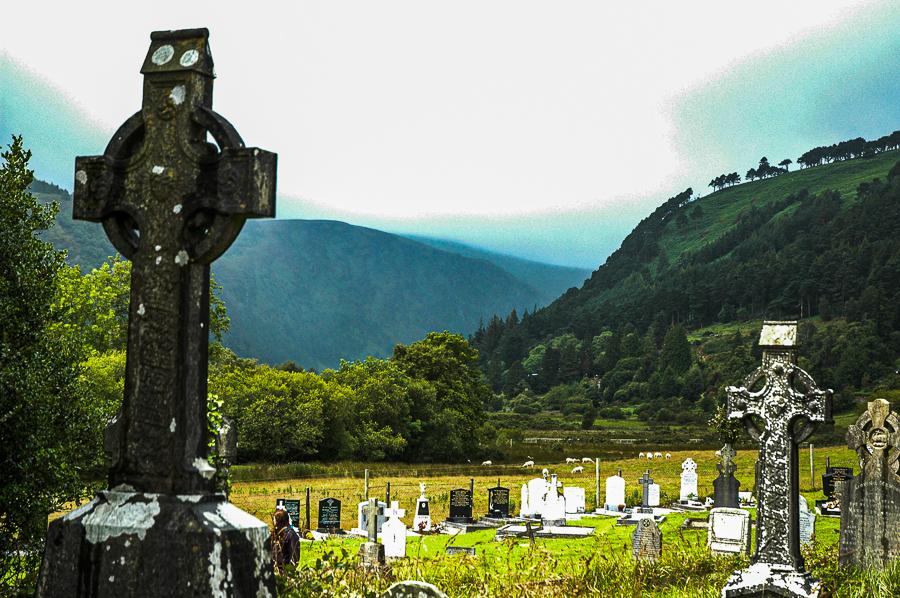 Glendalough Ireland Cemetary
