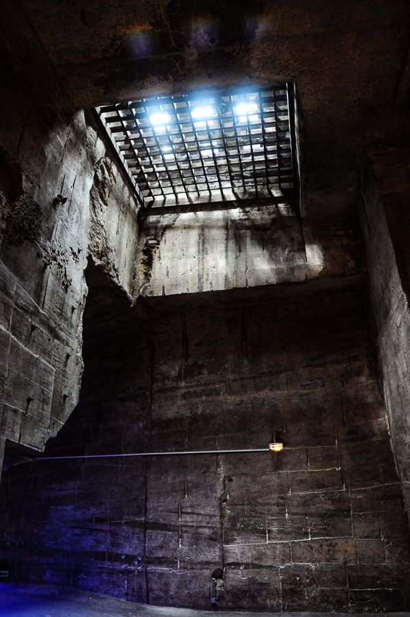 France, Sunlight Through Dungeon Bars