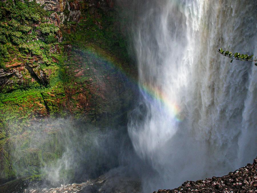 Guyana, Kaieteur Falls Rainbow