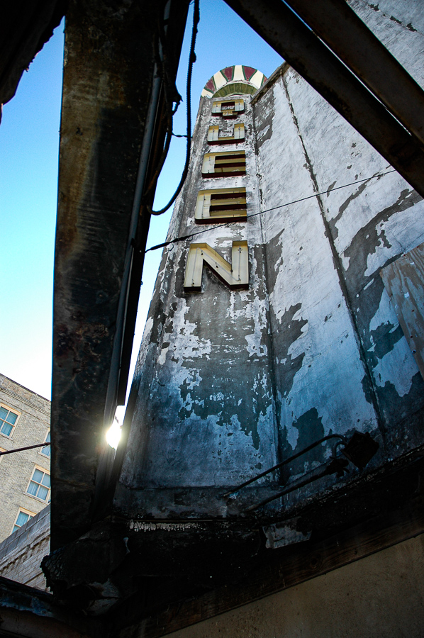 Abandoned Building - Queen Theater Forgotten Sunlight