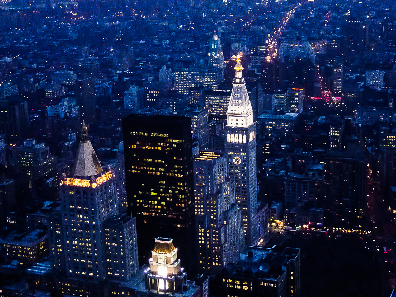 New York City, Manhatten, City Scape Intro
