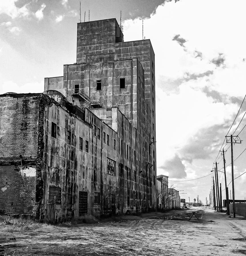 Abandoned Building - Factory Forgotten Galveston, Texas