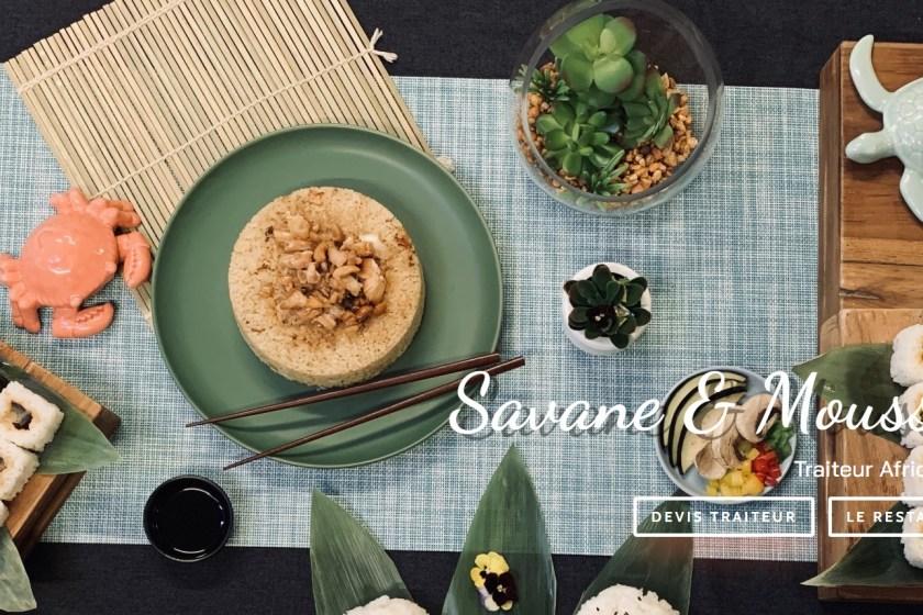 savane et mousson : traiteur et restaurant à la croisée de l'Afrique et de l'Asie