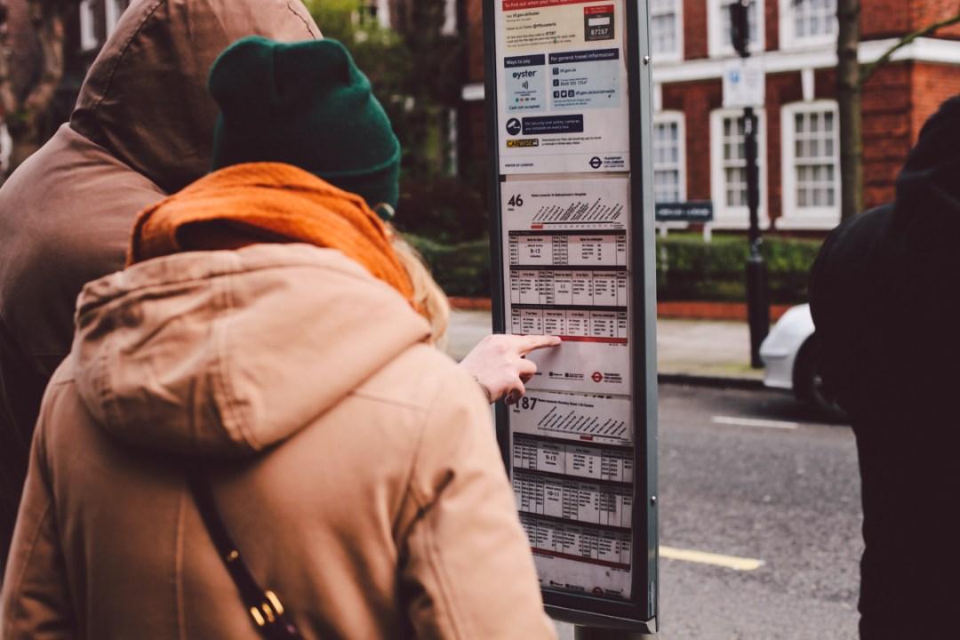 Londres - Bus Stop