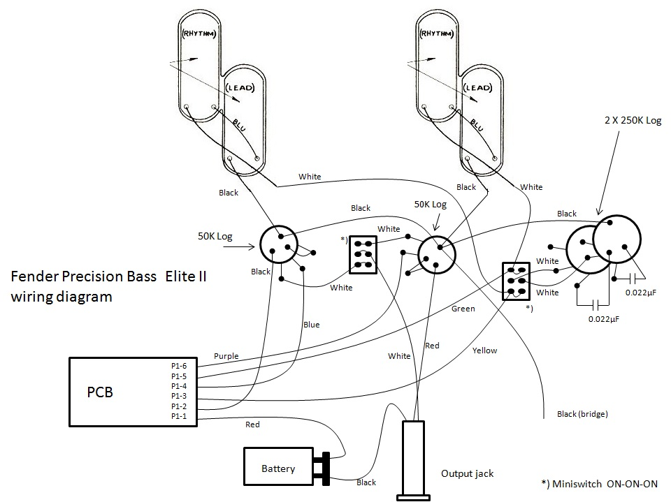 p b wiring diagram p bass pickup wiring diagram schematics