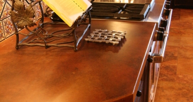 grey kitchen countertops remodles concrete & sinks: kitchens  riverbed