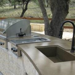 Outdoor Kitchens San Antonio Kitchen Sieve Concrete Countertops & Sinks: Kitchens| Riverbed
