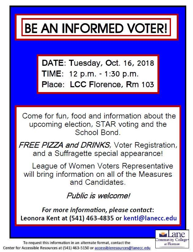 be an informed voter rivercal
