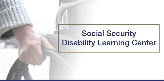 Social Security Disability Learning Center