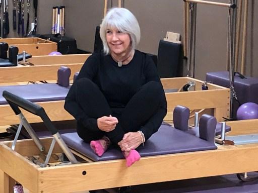 Jane McKenrick, instructor at Rivercity Pilates from Tiffin Iowa.