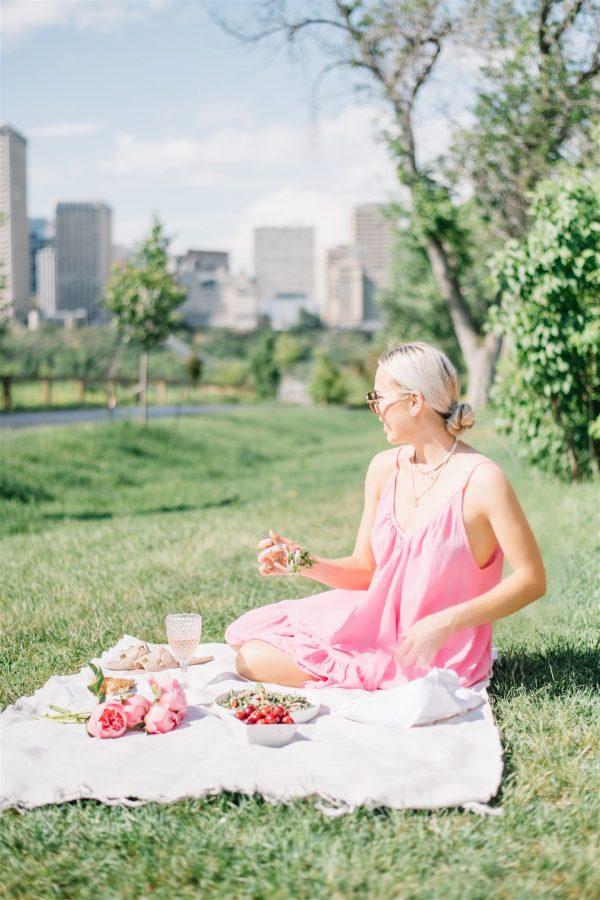 refreshing summer salad for picnic