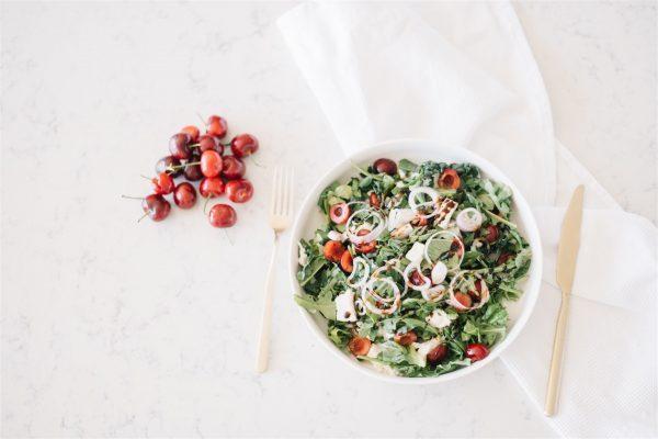 refreshing caprese salad
