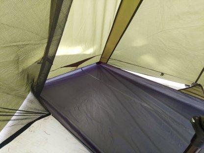 trekker tent 1 inside