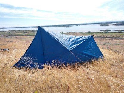1 person trekking pole tent