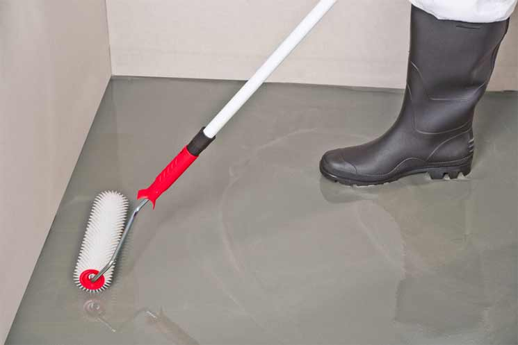 How does Self-Leveling Concrete Work?
