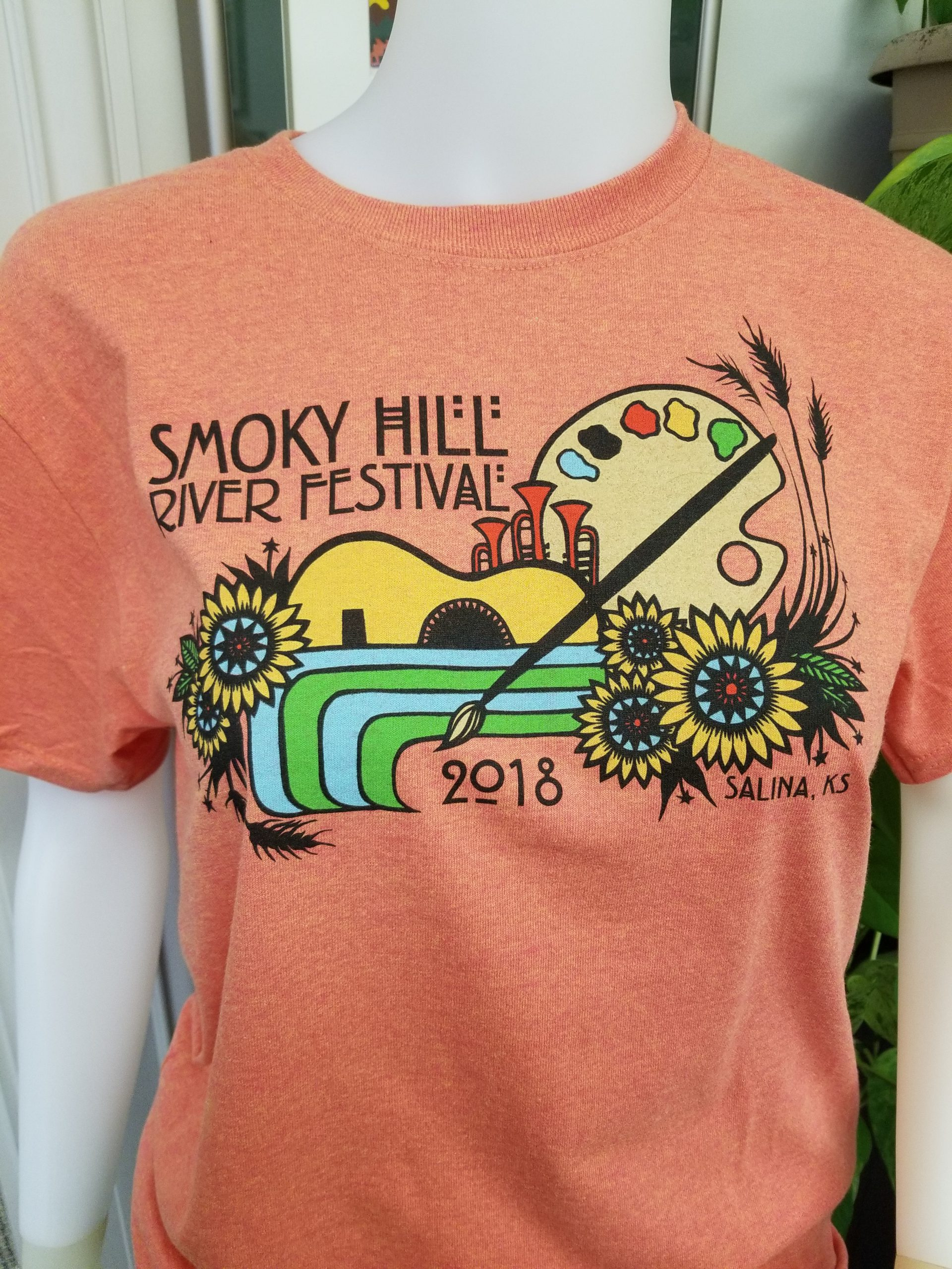 2018 Festival T-Shirt by Angie Pickman, Lawrence, KS