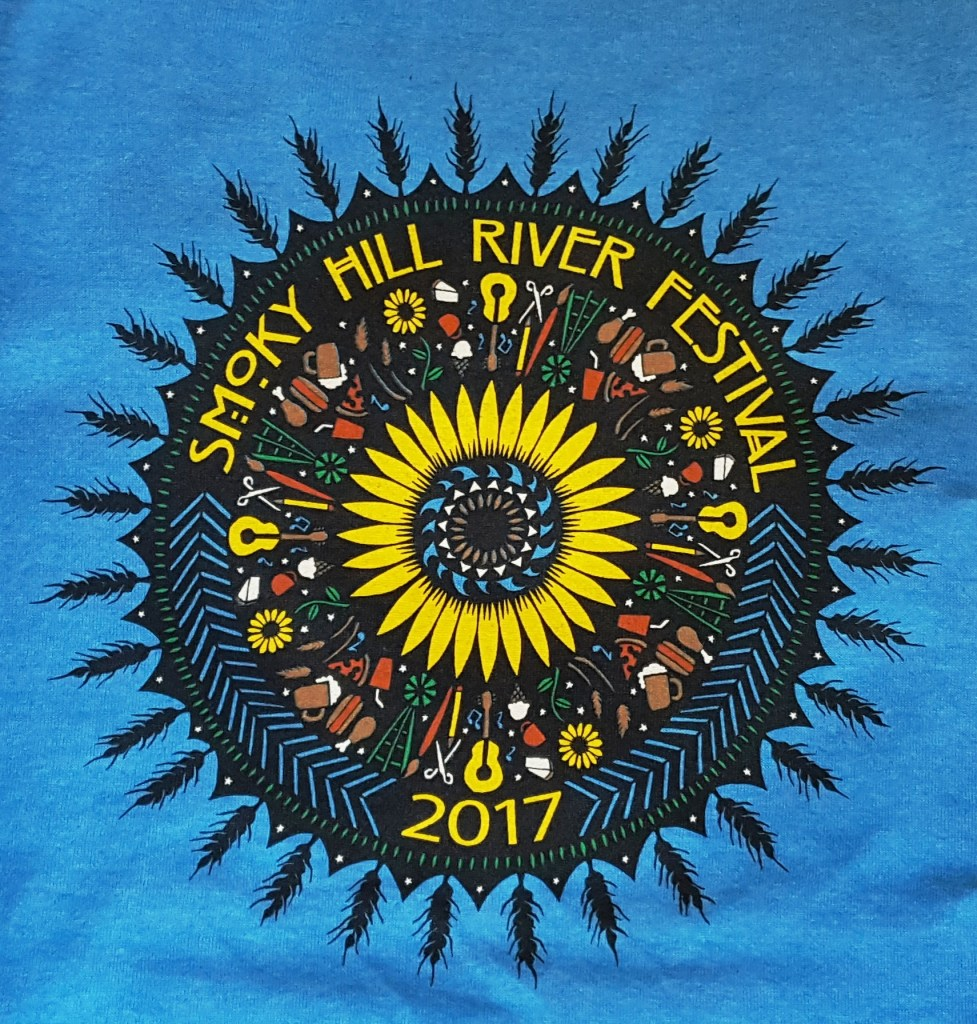2017 Festival T-Shirt by Angie Pickman