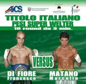 Boxe marcello matano nuovo campione italiano superwelter - Fiore collegare i punti ...