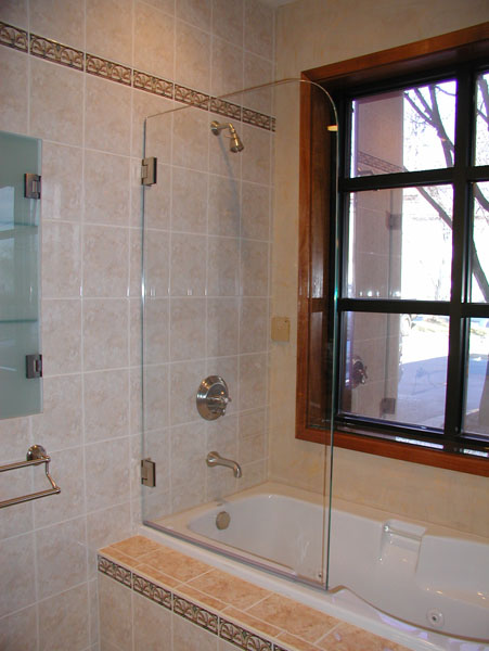 Shower And Tub Enclosure Ideas From River Glass Designs