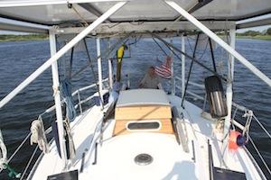 2013 0714 solar boat parrot