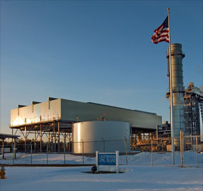 The Caithness power plant in Yaphank. (Photo: Caithness Energy)