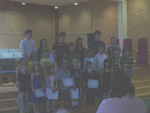 River Heights School of Music Recital Picture 1