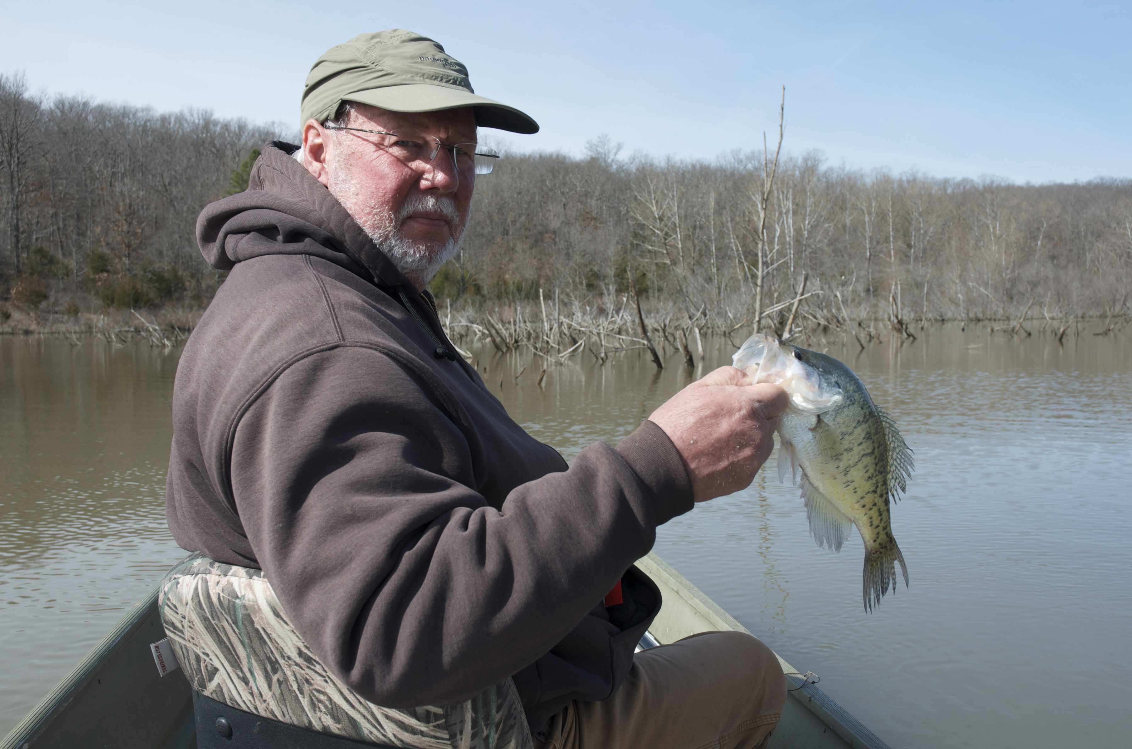 Fishing for crappie river hills traveler for Best crappie fishing times