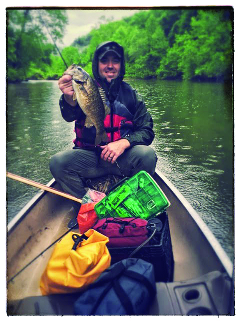 Big Nate with a beautful smallie