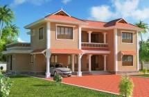 Orange Exterior House Paint Colors