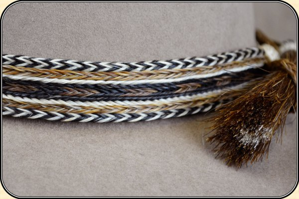 Horsehair Hat Band Wide 1 - Year of Clean Water