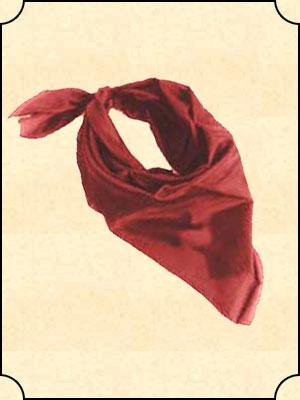 Silk Bandana  Solid Color