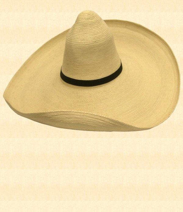 Viva Poncho Styled Straw Sombrero - Hat Style
