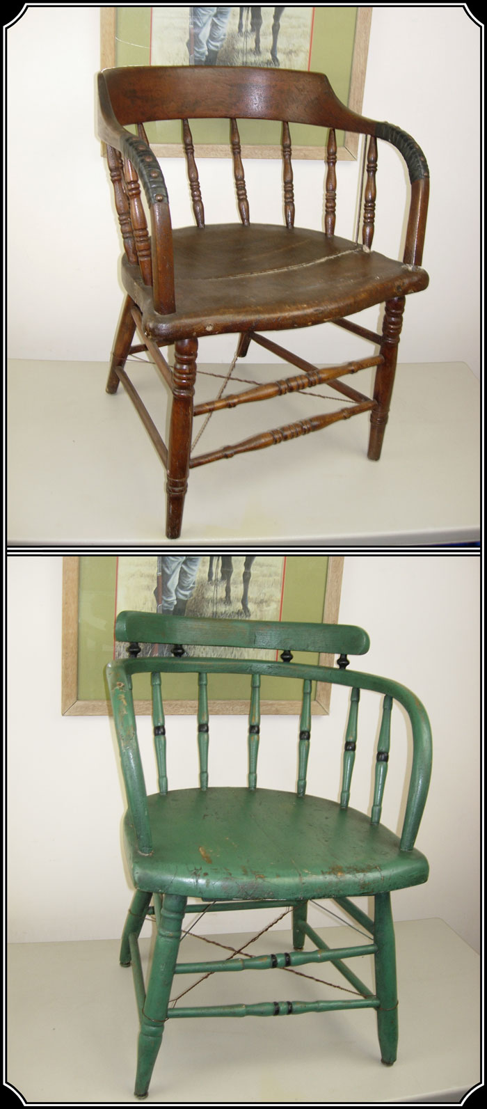 z Sold  Saloon Chair Captains chair caboose chair