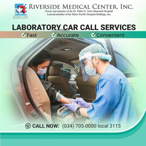 Laboratory Car Call Service? Call: (034) 705-0000 local 3115