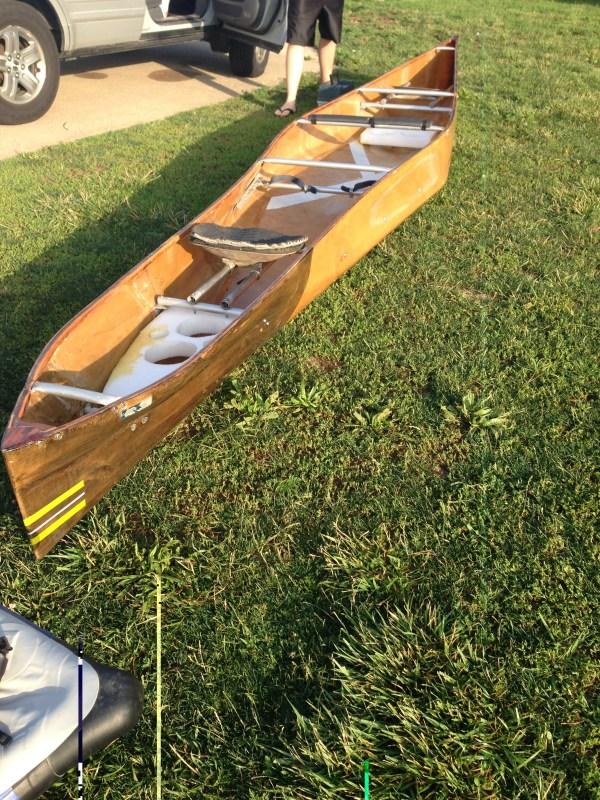 Wenonah Racing Canoe