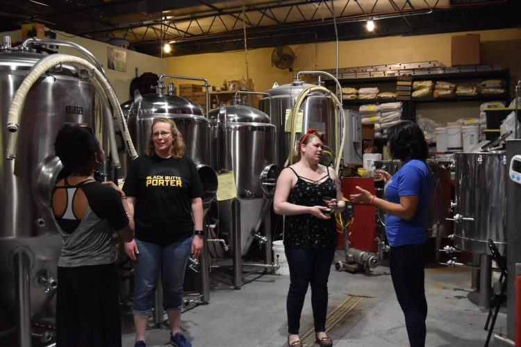 Behind the scenes look at the microbrewery and taphouse