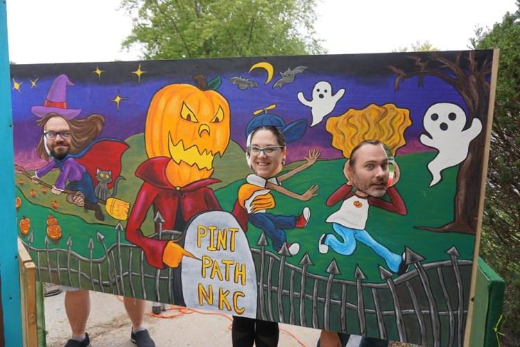 Pint Path NKC Monster Mural