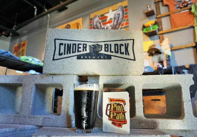 Pint Path NKC at Cinder Block Brewing