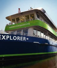 RiverQuest Explorer boat